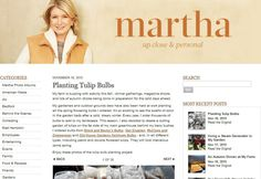 Doubtful about WordPress security and credibility? Check out the list of famous websites using WordPress and highly recognized. Planting Tulip Bulbs, Famous Websites, Cold Day, Martha Stewart, Wordpress