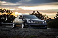 Bagged+Lexus+GS.