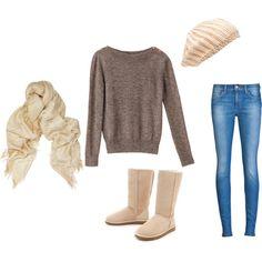 winter comfy casual