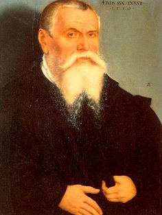 Lucas Cranach the elder, self-portrait