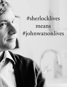 So, yes. It's all good. Better than good. It's bloody brilliant. #sherlocklives means #johnwatsonlives.  http://www.johnwatsonblog.co.uk/blog/07november