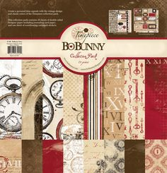 Bo Bunny Press - Timepiece Collection - 12 x 12 Collection Pack at Scrapbook.com $18.99