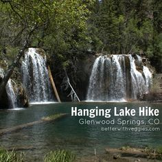 A short & steep hike in Glenwood Springs, Colorado that is well worth the visit - Hanging Lake!