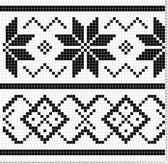 Patterns Kid Lous Easy Fair Isle Surface Pattern For Want Of A Pattern Tapestry Crochet Patterns, Fair Isle Knitting Patterns, Fair Isle Pattern, Knitting Charts, Weaving Patterns, Knitting Stitches, Cross Stitch Borders, Cross Stitch Patterns, Fair Isle Chart