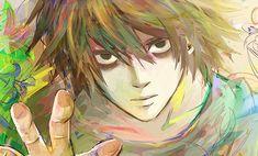 Gorgeous L Lawliet illustration death note ryuzaki Me Me Me Anime, Anime Guys, Manga Anime, Anime Art, Death Note Fanart, L Death Note, Elle Lawliet, Detective, Amane Misa