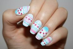 Vintage Roses Nail Designs Have you been trying to find new ideas concerning the way to do your manicure this time? Spring is simply round the corner, Rose Nail Design, Rose Nail Art, Vintage Rose Nails, Vintage Rosen, Super Nails, Colorful Flowers, You Nailed It, Hair And Nails, Manicure