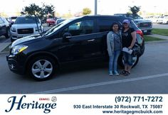 Congratulations to Suzanna Cerda on your #Buick #Encore purchase from Brad Tittle at Heritage Buick GMC! #NewCar