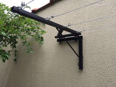Pin by Piotr Loban on Для дома Clothes Drying Racks, Clothes Hanger, Clothes Dryer, Backyard Projects, Home Projects, Outdoor Clothes Lines, Gate Design, House Design, Outdoor Laundry Rooms