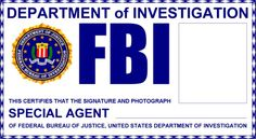 fbi badge printable - Google Search