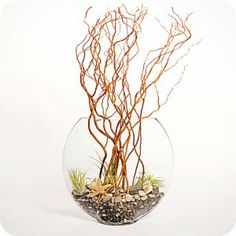 Branches are a great Winter decoration option.