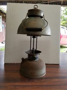Antique Coleman Lantern Model 152a Unbelievable Rare By