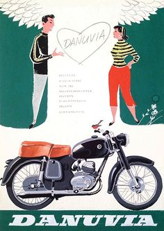 Budapest Poster Gallery Bike Poster, Motorcycle Posters, Motorcycle Art, Motorcycle Design, Retro Advertising, Vintage Advertisements, Vintage Ads, Vintage Posters, Moto Car