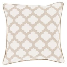 Morrocan Printed Lattice Toss Pillow : Target