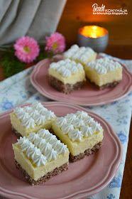 Barbi konyhája: Diós krémes kocka Krispie Treats, Rice Krispies, Waffles, Cheesecake, Barbie, Breakfast, Dios, Morning Coffee, Cheesecakes