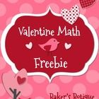Valentine Math Freebie-Common Core Aligned-Owls Birds Chevron and Dots!   Winter themed text passages!   This is a fun way for your students to rev...