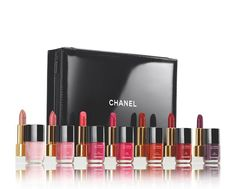 DOUBLE UP: CHANEL LIP AND NAIL SET