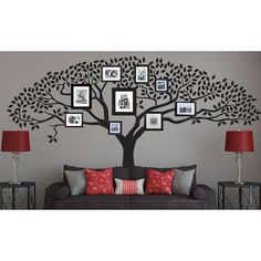 Vinyl Tree Wall Decal Sticker Art Bedtime By Walldecaldepot 86 00 Decorating Ideas Pinterest Decals And