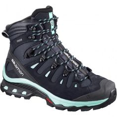 Check out all of our womens walking boots online, including the Salomon Quest 3 GTX Ladies Walking Boots, available now! Trekking Shoes, Hiking Shoes, Trail Shoes, Trail Running Shoes, Salomon Shoes, Hiking Boots Women, Walking Boots, New Sneakers, Camping Accessories