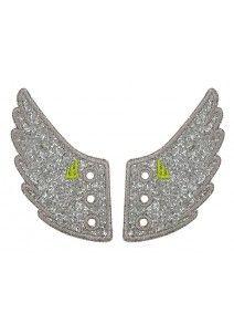 Shwings Broadway wings silver sparkle 2 kpl/pkt