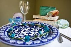 luncheon table decoration - Google Search