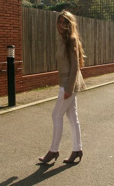 Khaki beige summer sweater in a cotton linen silk mix by ileaiye, $140.00
