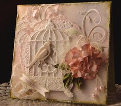 Shabby Chic Bird and Cage Pink and Green from Perfect Pallette http://i24.photobucket.com/albums/c3...1.ping~original