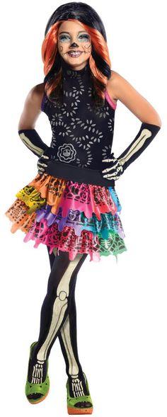Skelita Calaveras Costume   MonsterHighDolls.net