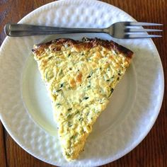 Zucchini Frittata - Just like quiche – but no crust to fuss with.