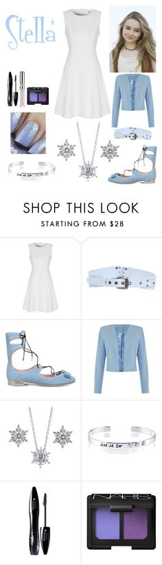 """""""Stella's Family Day Outfit"""" by keih95 ❤ liked on Polyvore featuring True Decadence, STELLA McCARTNEY, Salvatore Ferragamo, Shubette, BERRICLE, Belk Silverworks, Lancôme, NARS Cosmetics and Chantecaille"""