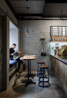 N o t t d e s i g n industrial cafe, industrial coffee shop, industrial restaurant, industrial shelving, Industrial Cafe, Industrial Restaurant, Industrial Shelving, Industrial Interiors, Industrial Design, Industrial Coffee Shop, Industrial Furniture, Industrial Living, Modern Industrial