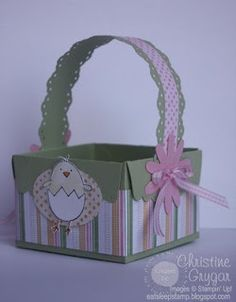 Homemade Easter Baskets & Paper Baskets