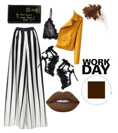 """""""October 5, 2016"""" by inquirieswithneianelanay on Polyvore featuring Tome, Anine Bing, Dsquared2, Lime Crime and Yves Saint Laurent"""