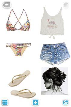 Beachy outfits to fulfill your summer needs! http://xwalker.com/