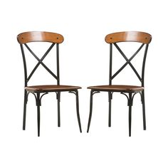 Add some adventure to your home with the X-Marks the Seat Chair. With metal and wood both used in its construction, it has a rustic industrial look that makes us feel like we're on a pirate ship. But i...  Find the X-Marks the Seat Chair, as seen in the Accent Chairs Collection at http://dotandbo.com/category/furniture/chairs/accent-chairs?utm_source=pinterest&utm_medium=organic&db_sku=108486