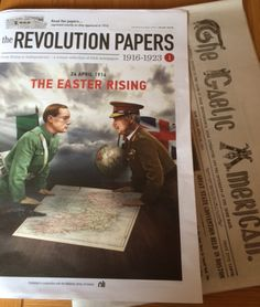 `The REVOLUTION PAPERS`, a collection of Irish newspapers 1916 1923