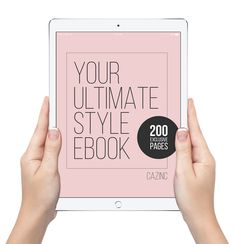Have you always wanted to learn the secrets shared by Stylists, but don't have the time and money?  Learn everything there is to know about how to create a brilliant wardrobe to suit you here.  Only $49.50.