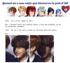Troll, Anime Fr, Kpop, Mystic Messenger, Games For Girls, Castiel, Adolescence, Funny Comics, Haha
