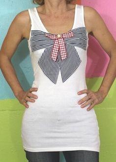 À vendre sur #vintedfrance ! http://www.vinted.fr/mode-femmes/debardeurs/32035369-haut-debardeur-noeud-etudiant-japonaise-sailor-moon-ts36-38-jam-printempsete-kawaii