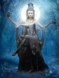 Orisha, Tibetan Art, Guanyin, Hindu Art, Buddhist Art, Dance Art, Sacred Art, Gods And Goddesses, Deities