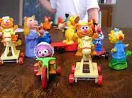 McDonald's Happy Meal... I collected all of these :)