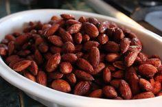 Siracha and honey almonds