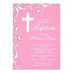baby dedication gender neutral baptism invitation make your own