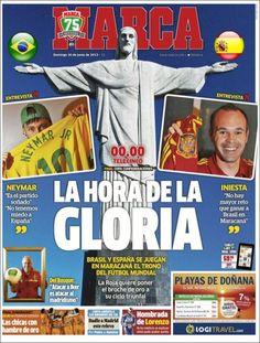 Los Titulares y Portadas de Noticias Destacadas Españolas del 30 de Junio de 2013 del Diario Deportivo MARCA ¿Que le parecio esta Portada de este Diario Español?