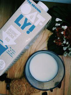 Vegan breakfast w/ oatly