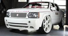 custom 2007 ridgeline hondas white | Range Rover Pickup Based on Honda Ridgeline Is Pure Overkill