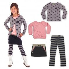 Set voor Aimy: Stars and stripes Billy & Lilly