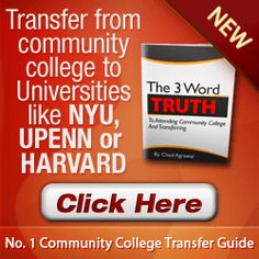 Can you still get scholarships when transfering from a community college to a university?
