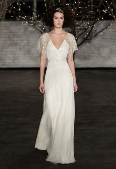 a132779166b Jenny Packham s Tilly from her Spring 2014 Collection Art Deco Wedding Dress