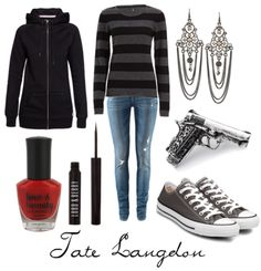 Tate Langdon Inspired Outfit. Take that last outfit back. This TOTALLY screams EEEEEEEEEELLLLLLLLLL