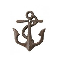 1 X Cast Iron Nautical Anchor Hook ~ Rustic Brown mds http://www.amazon.com/dp/B008RSJP58/ref=cm_sw_r_pi_dp_bbT6vb1J7NT0C